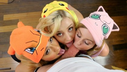 Daisy Chainz, Jaye Summers and Haley Reed – Gotta Catch Em All | artporn 365 days video in hd 720p