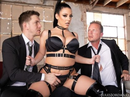 Angela White - Gets A Passionate Double Penetration | artporn 365 days video in hd 720p