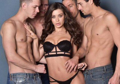 Lana Rhoades - My First Gangbang | artporn 365 days video in hd 720p