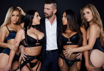 Angela White, Lena Paul, Alina Lopez, Autumn Falls - Incredible Orgy Party! | artporn 365 days video in hd 720p