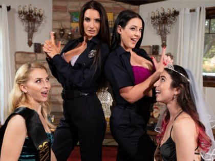 Angela White, Alix Lynx, Serena Blair, Silvia Saige - You Are Arrested! | artporn 365 days video in hd 720p