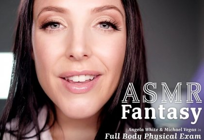 Angela White - ASMR Fantasy With Dr. White | mp4 porn video on mobile phone