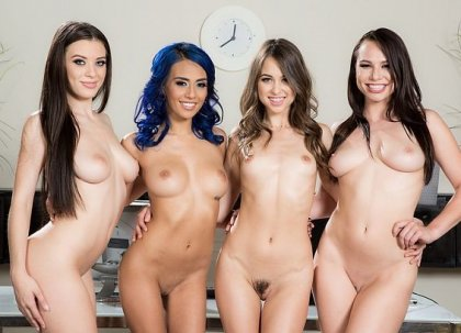 Lana Rhoades, Riley Reid, Aidra Fox, Janice Griffith - Vacancy | artporn 365 days video in hd 720p