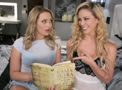 Cherie Deville, Mia Malkova - Kama Sutra | artporn 365 days video in hd 720p
