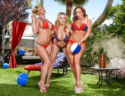 Julia Ann, Phoenix Marie, Richelle Ryan - Welcome To America! | artporn 365 days video in hd 720p