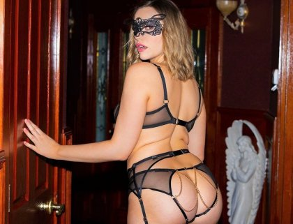 Mia Malkova - Masked Lady's Beautiful Solo | artporn 365 days video in hd 720p