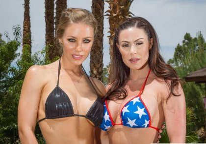 Nicole Aniston, Kendra Lust - Relaxation By The Pool For Three | artporn 365 days video in hd 720p