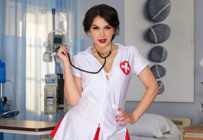 Valentina Nappi - Nurse Provides Extra Care | mp4 porn video on mobile phone