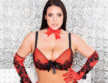 Angela White - Takes A Huge Cock In The Ass | artporn 365 days video in hd 720p